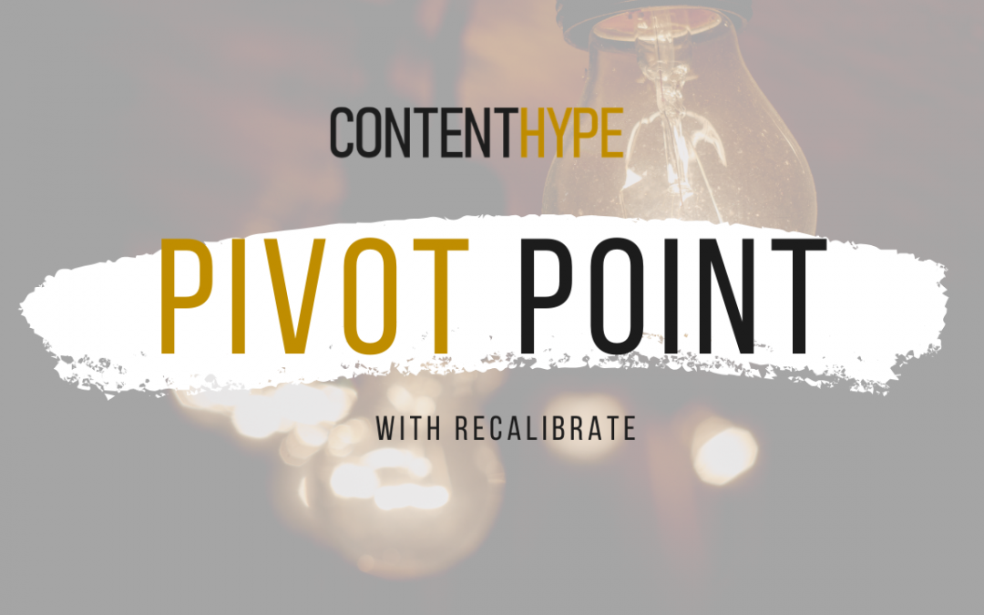 Pivot Point: Episode 2 with Gary Wagner from Recalibrate