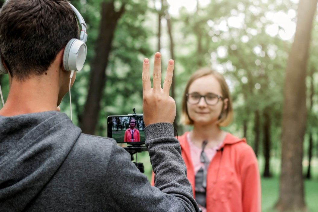 Content creation with video