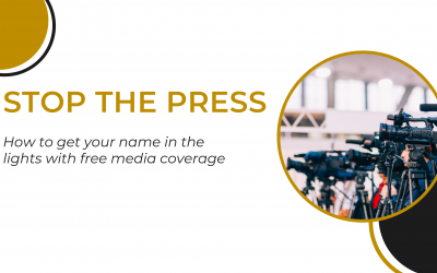 Stop the Press! How to get your name in lights with fantastic press relations. Learn how with Ping Publicity